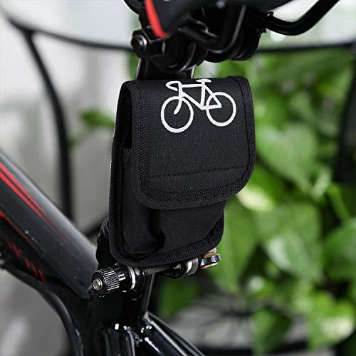 Homealexa Fahrradwerkzeug Praktisches Fahrrad Werkzeug- und Reparatur Set - Flickzeug mit 14-in-1 Multitool, Aufbewahrungstasche - Fahrradflickzeug - Reparaturset - Reifenflickzeug - 6