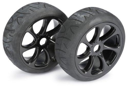 Absima–Wheel Set Buggy 7Spoke/Street Black 1: 8(2Stück) (2530010)