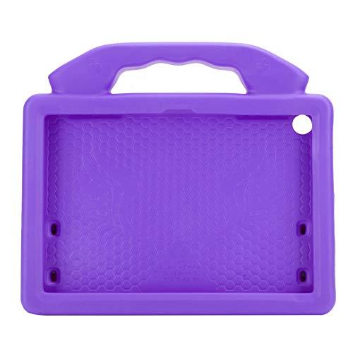Funda Protectora de EVA para Tableta, Funda Protectora de Tableta Anti-caída EVA Apta para Niños para Kindle Fire HD 8/8 P Funda(Púrpura)