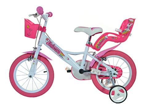 Einhorn Kinderfahrrad Unicorn Mädchenfahrrad – 16 Zoll| Original | Kinderrad Mit Stützrädern, Puppensitz Und Fahrradkorb – Das Einhorn Fahrrad Als Geschenk Für Mädchen - 3