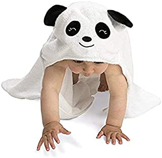 Baby Hooded Towel Upsimples Panda Baby Towels for Boys and Girls 38 × 38 Inches Ultra Large 500GSM Super Soft Organic Bamboo Baby Towel for Baby Infant Toddler | Baby Shower/Registry Gift Photo Shoot