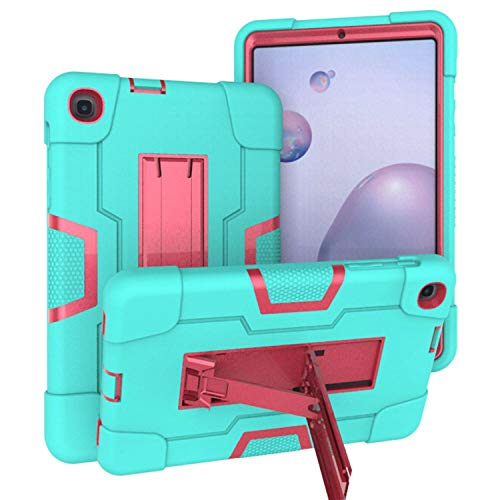 Ycxbox Samsung Galaxy Tab A 8.4' T307 Case Cover, Shockproof Hybrid Rugged Kickstand Stand Heavy Duty Kids Proof Protective Case for SM-T307 2020