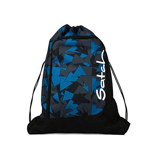 Satch Sportbeutel Blue Triangle, 12l, Blau