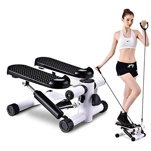YUXINCAI Pedaliera ellittica per Bici ellittica per Macchine ellittiche per Bici da Allenamento con Alzata con Monitor Incorporato, Silenzioso Compatto per l'home Office