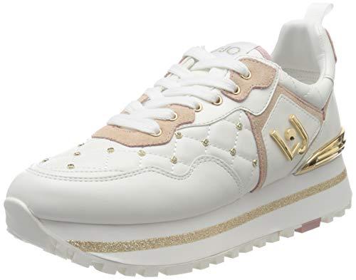 Liu Jo Shoes Maxi Alexa-Running, Scarpe da Ginnastica Basse Donna, Bianco (White 01111), 40 EU