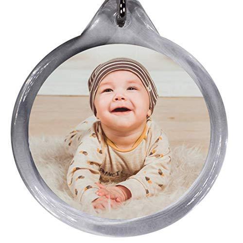 Llavero de foto personalizable con foto personalizada, ideal como regalo