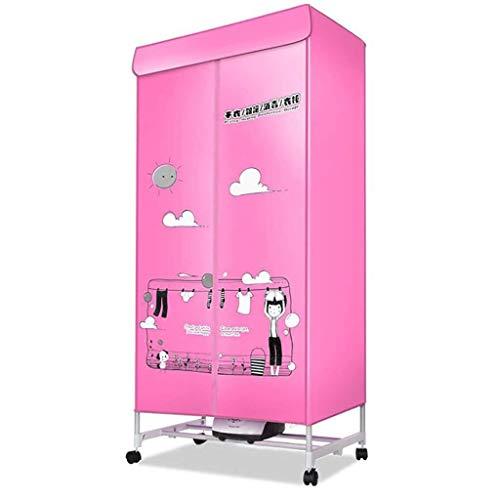 Jiamuxiangsi Elektrische droger, verwarmde wasdroger, 1500 W, elektrische PTC, snelle droging van 15 kg, grote capaciteit, automatische tijd, sneldrogend, in de wasmachine drogen garderobe