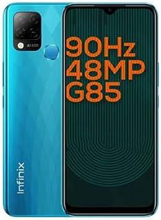 Hot 10s -6.8-inch 64GB/4GB Dual SIM Mobile Phone - Heart Ocean