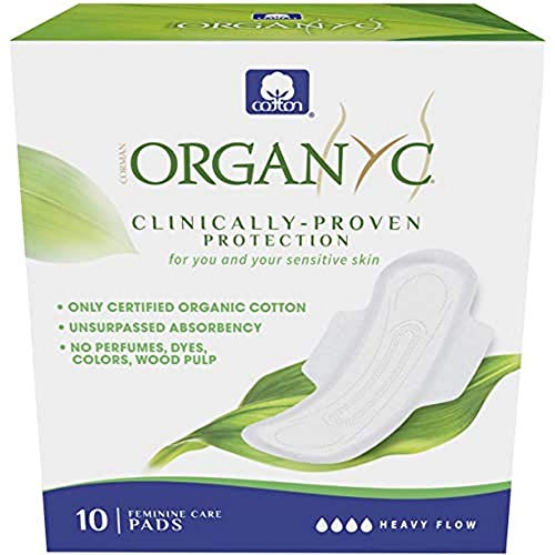 Product Image of the Organyc 100% Certified Organic Cotton Feminine Pads