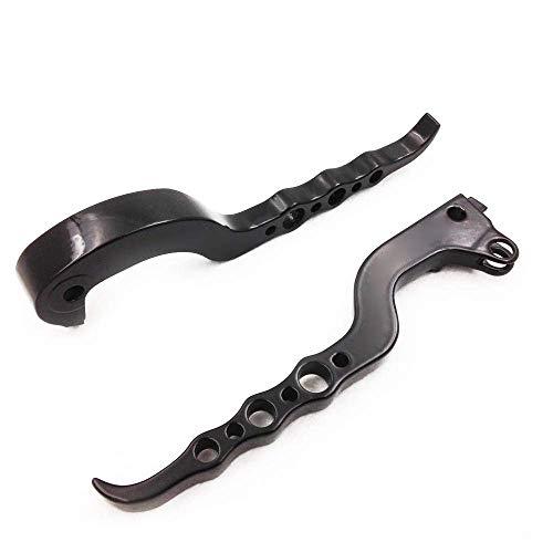 WYJBD Bremshebeln 1 Paar Kraftradbremskupplungshebel for H o n d a Universal-Modification Aluminiumgriffe Brems L