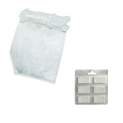 12 bolsas de aspiradora + 12 fragancias para Folletto VK 135