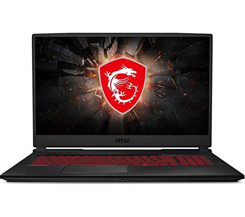 MSI GL75 Core¿ i7-9750H 8 GB / Storage: 512 GB SSD NVIDIA GeForce GTX 1660 Ti 6 GB Full HD screen 17.3' Red back-lit Gaming Laptop