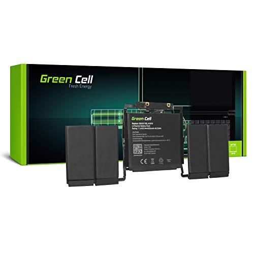 Green Cell A1819 Batería para Apple MacBook Pro 13 A1706 Touch Bar (Late 2016, Mid 2017) Ordenador 49.0Wh 11.4V
