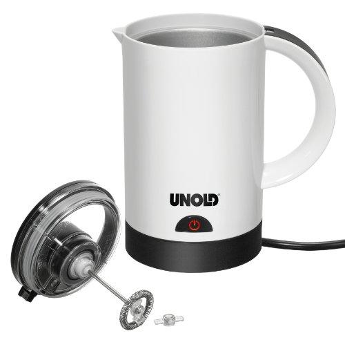 Unold 28400 Milchaufschäumer Latte Presto, Maße: 16.5 x 10.0 x 16.5 cm, 420-500 W