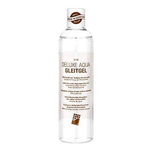 EIS, Lubricante Deluxe Aqua chocolate, efecto de larga duración acuoso, 300ml