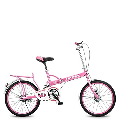 Cool Folding Bike for Women PINK color