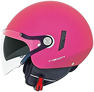 Nexx X60 Vision Flex Open Face Helmet (Medium, Pink Block Matte)