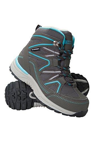 Mountain Warehouse Stride Wasserdichte Stiefel für Kinder Blaugrün 35