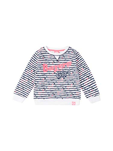 FC Bayern München Sweatshirt Bayern Girl Baby weiß/rosa, 74/80