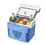 Electric Heater Kühlschränke Auto Tragbare Thermo-Elektrische Kühlbox/Heizbox Mini-Kühlschränke für Auto, Heim, Lebensmittel, Medikamente, Haushalt und Trave (Blau)