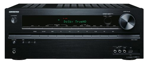 Onkyo TX-NR414 5.1 3D Netzwerk AV-Receiver fr Apple iPhone/iPod (HD-Audio,...