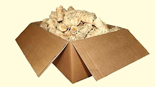 CARBOGARDEN 5 kg natürlicher Kaminanzünder, Grillanzünder, Holzwolle mit Wachs getränkt BBQ Grill, Giftfrei & Geruchlos, schnell und stark, trocknen Nicht aus, hergestellt in der EU