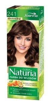 Joanna Naturia Haarfarbe 241nussbraun Tief und lang Haar Farbe