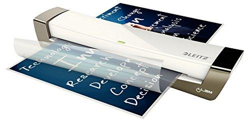 Leitz iLAM Office A3Warm-Laminiergerät 400mm/min Silber, Weiß