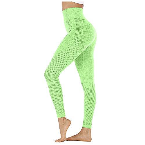 Bpants Leggings sin fisuras de cintura altas Empuje Leggins Deporte Mujer Fitness Corriendo Pantalones de yoga Pantalones Elásticos de Energía Gimnasio Muchacha Mallas Pantalones de mujer pantalones d