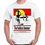 エンドレスサマー1960年代サーフ・フィルム・ビーチ、ハワイ、オーストラリアレトロTシャツ,男性(ユニセックス),M