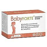 BabyFORTE® Desiderio di bebè - Concepimento Integratori - 60 Capsule - acido folico + Maca + mio-inositolo + Nutrienti - Vegan