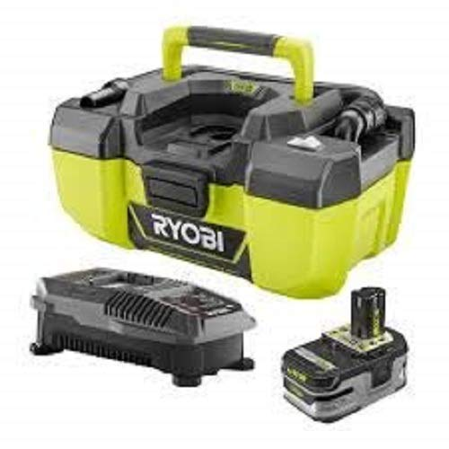 Ryobi 18-Volt ONE+ Lithium-Ion Cordless 3 Gal. Project Wet/Dry Vac with Accessory Storage Kit, (1) 3.0 Ah Battery, and Charger Model# P1978N