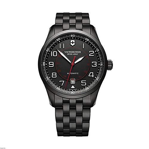 Victorinox Airboss Mechanical Black Edition für Herren - Swiss Made Automatic Watch 241740
