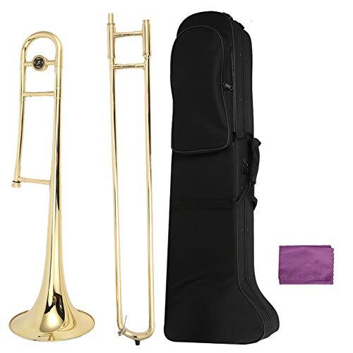 Uxsiya Bb Key Posaune Exquisites Blasmusikinstrument für Anfänger