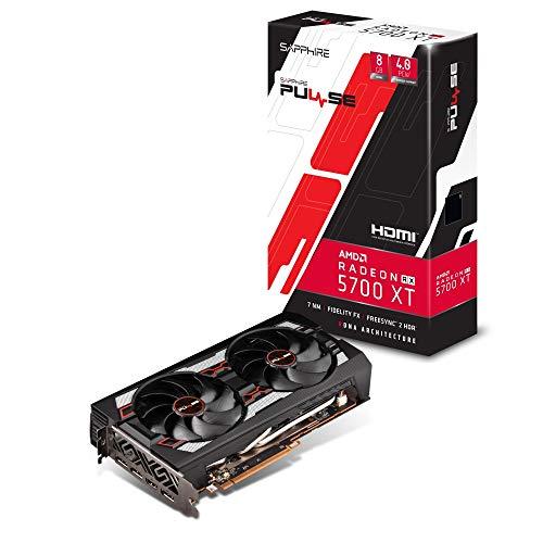 SAPPHIRE Pulse Radeon RX 5700 XT 8G GDDR6 HDMI/ Triple DP OC W/ BP (Uefi)