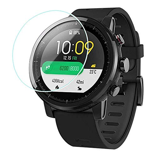 Iloft® Clear Waterproof Scratch Guard Protector for Amazfit Stratos Smartwatch (Pack of 2)