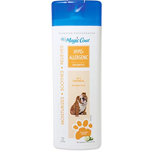 Four Paws Magic Coat Hypo Allergenic Pet Dog Grooming Shampoo Formulated 16oz