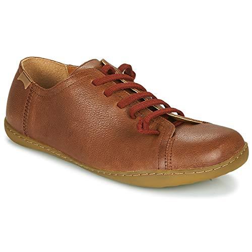 CAMPER Mens Peu Sneaker, Medium Brown, 43 EU
