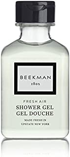 Beekman 1802 Fresh Air Shower Gel Lot of 16 Each 1oz Bottles. Total of 16oz