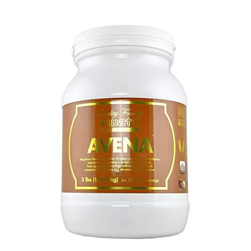 +WATT Farina d' AVENA 1,360kg Gluten Free con acido lipoico, coenzima Q10, vitamine e cromo.