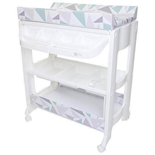 MyChild Peachy Changing Unit with Concealed Bath
