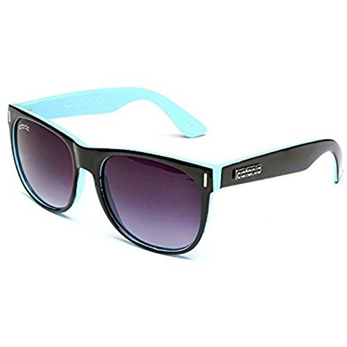 Catania Occhiali da Sole - Nuova collezione - UV400 (UVA & UVB) - Wayfarer Stile - Limited Edition
