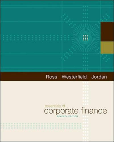 Essentials of Corporate Finance (The Mcgraw-hill/Irwin...