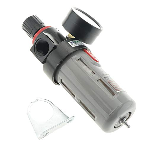 Milageto Regulador de Presión del Filtro de Aire BFR4000 para Compresor Y Aire
