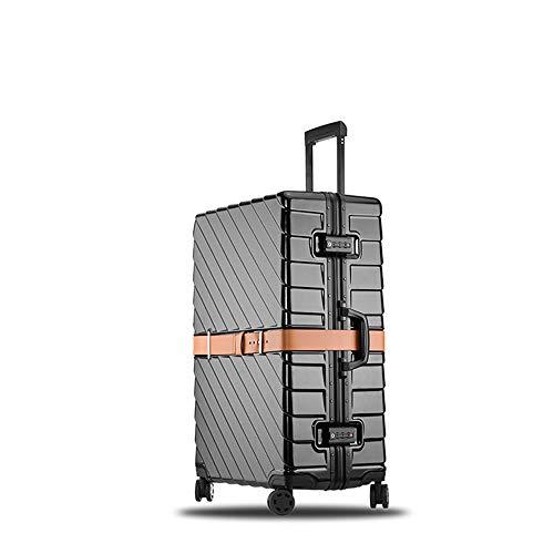 WANLN Equipaje de Viaje Aluminio, Maleta de Equipaje de Viaje giratoria de Aluminio...