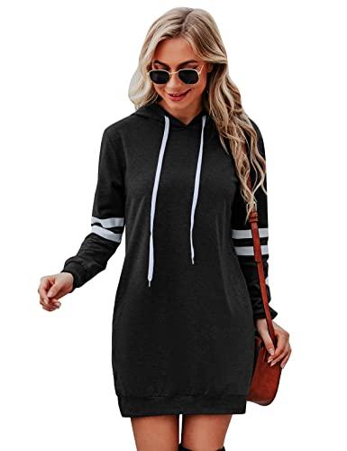 felpa donna manica lunga Irevial Felpa donna con cappuccio Manica Lunga Felpa Sportiva Donna Hoodie Pullover Felpa Vestito Donna