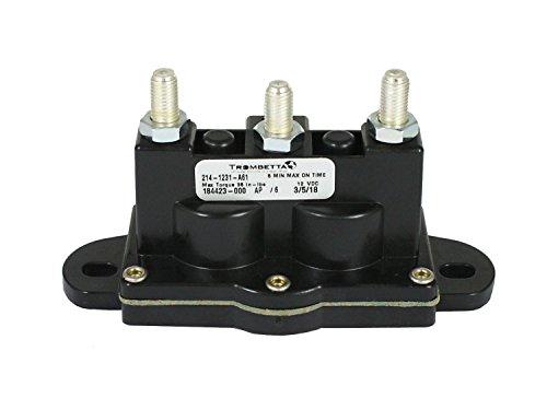 Trombetta 214-1231-A61 12 Volt Reversing Polarity DC Contactor