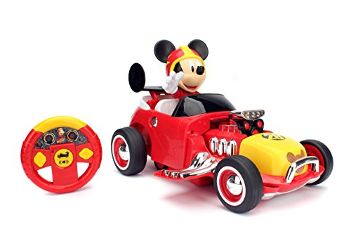 Jada Toys Disney Junior Mickey & The Roadster Racers Transforming Radio Control Car Vehicle, 14