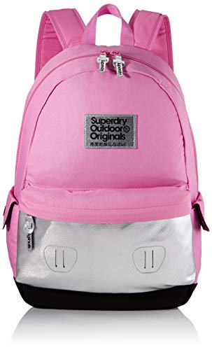Superdry Damen Colour Change Montana Rucksack, Pink (Magenta), 35x20x45 cm
