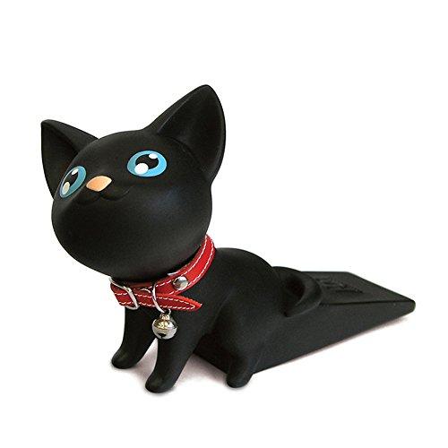 Faironly - Tope para puerta de gato, diseño de cuña de PVC